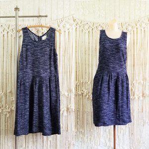 {euc} LOFT Heather Sweater Knit Minimalist Dress